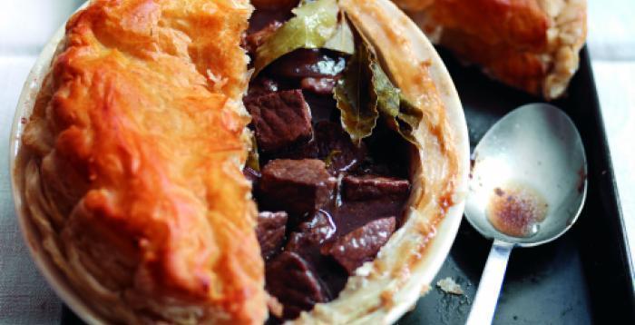 Beef, Beer and Chestnut Pie